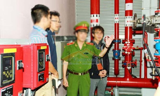 sử phạt liên quan đến phòng cháy chữa cháy.