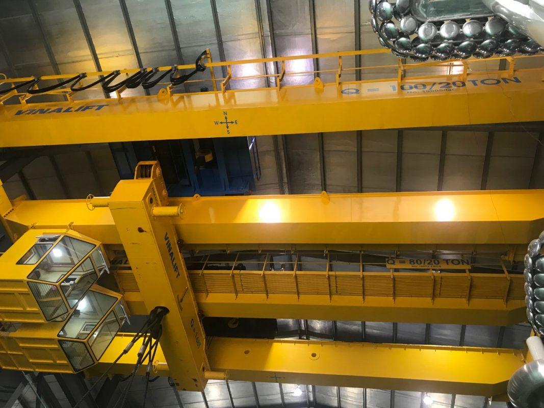 Báo giá cầu trục 10 tấn