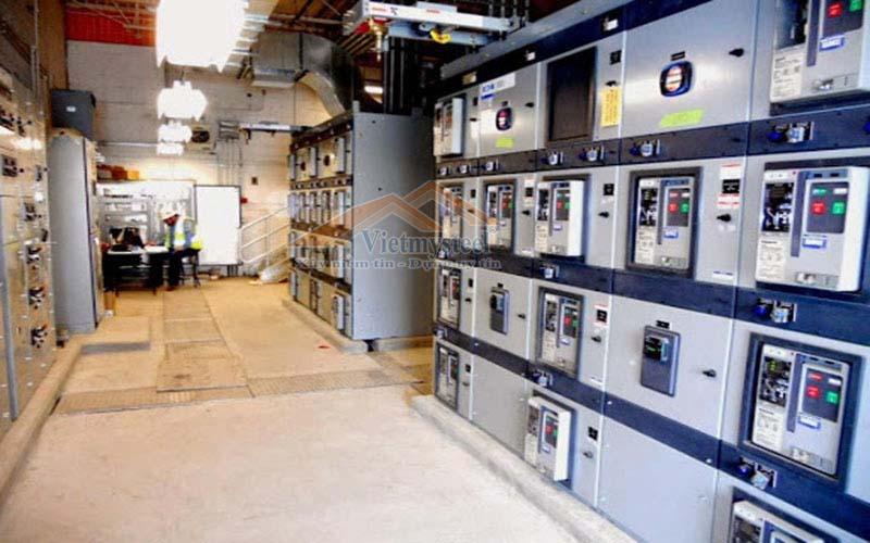 hệ thống tủ điện công nghiệp
