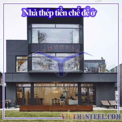Nhà ở bằng thép tiền chế