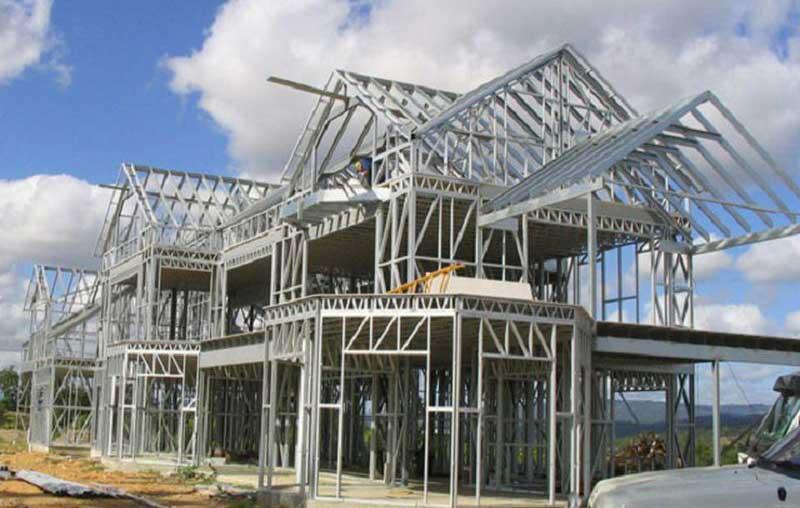 Thi công xây dựng nhà tiền chế mái thái trọn gói