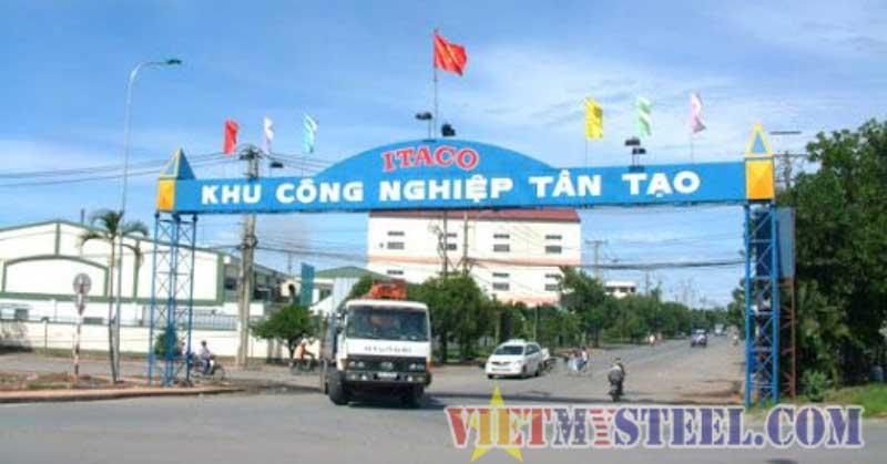 cổng chào thép tiền chế cho khu công nghiệp
