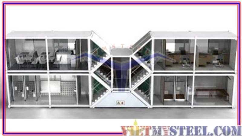 mẫu thiết kế container văn phòng đẹp