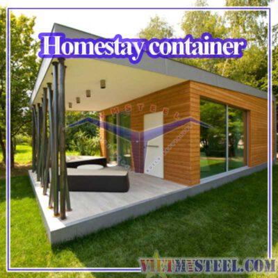 Thiết kế thi công dự án homestay container