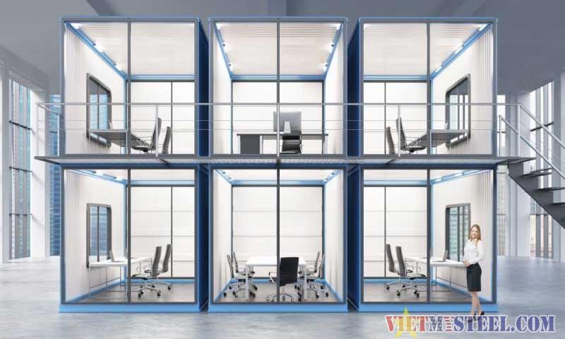 Thiết kế văn phòng container