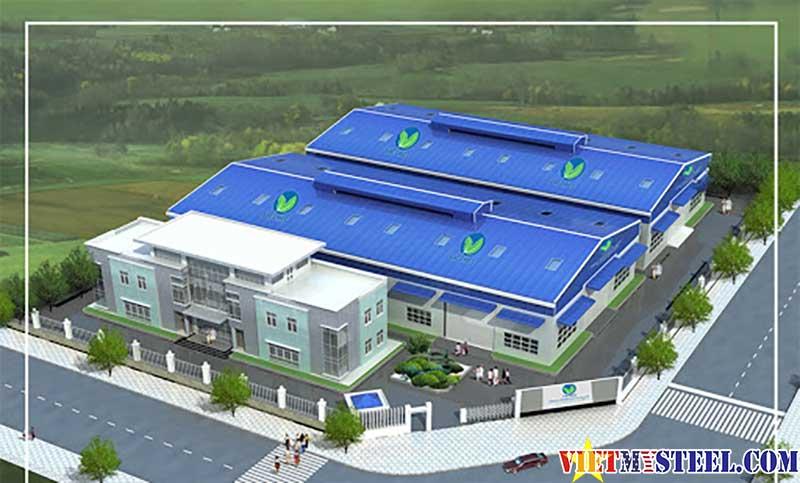 Các bước tiến hành thiết kế nhà xưởng tại Vietmysteel