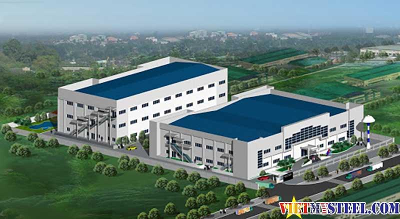 Quy trình tiếp nhận hồ sơ thiết kế nhà xưởng công nghiệp tại Vietmysteel