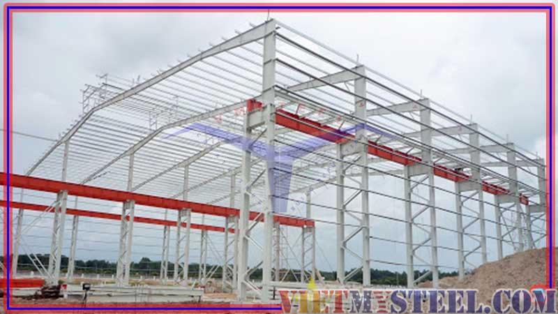Đơn giá thi công lắp dựng kết cấu thép