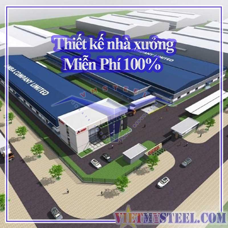 Thiết kế nhà xưởng Vietmysteel