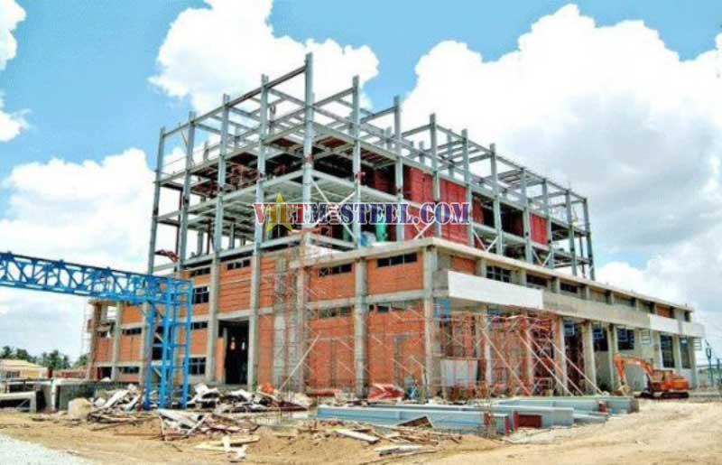 Giá xây dựng nhà trọ tiền chế trọn gói tại Vietmysteel