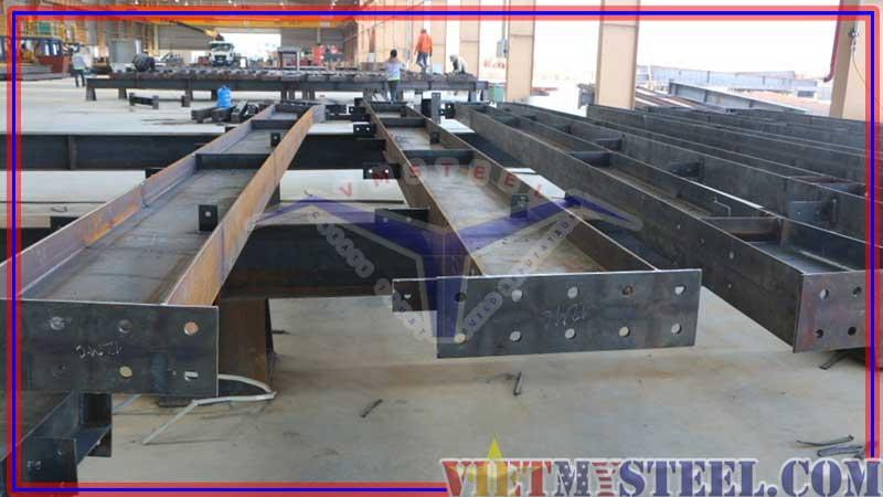 Quy trình gia công và kiểm soát chất lượng sản phẩm của kết cấu thép như thế nào