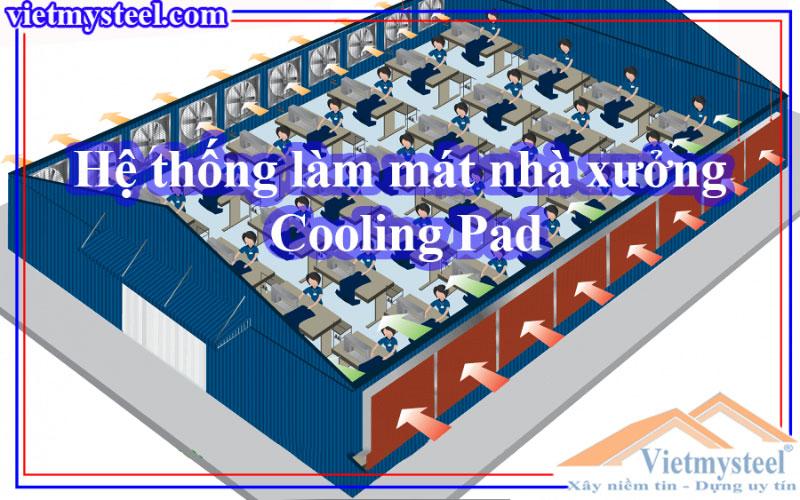 Hệ thống làm mát nhà xưởng cooling pad
