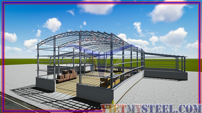 Tầm quan trọng của kết cấu thép mái vòm trong xây dựng